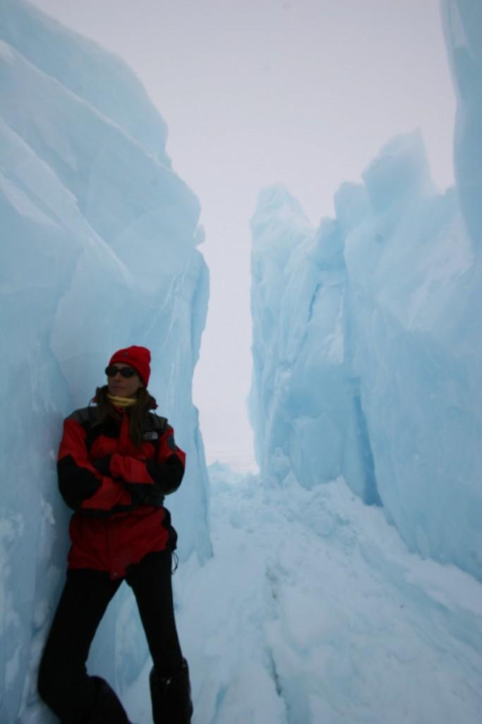 High Arctic ice. Photo: Tim Taylor